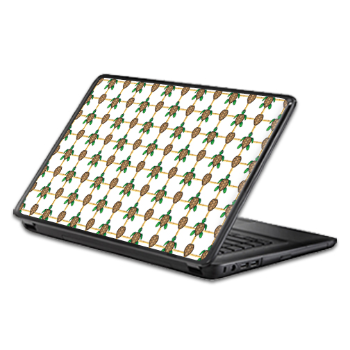 MightySkins Protective Vinyl Skin Decal Wrap for Universal Laptop Apple Asus Acer Dell Lenovo Sony Toshiba 11 13 15 17 sticker cover Turtle Tile