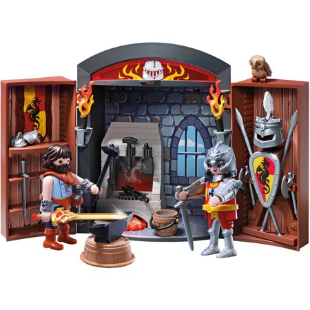 PLAYMOBIL Knights' Armory Play Box