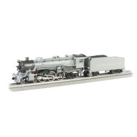 Canadian Pacific Steam Engine - New York Central 4-6-2 Pacific Steam Train Engine 027 Scale