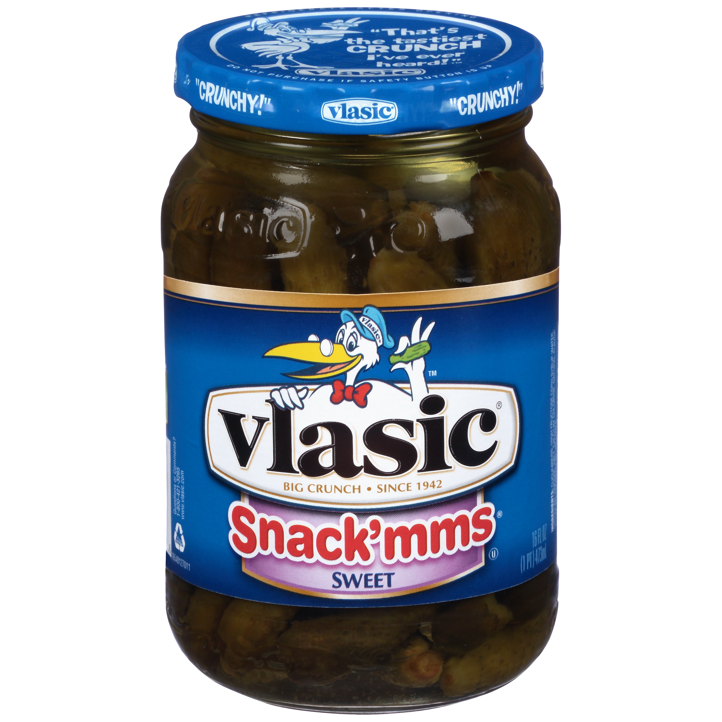 Vlasic Sweet Midgets Pickles, 16 fl oz