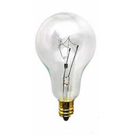 - Replacement for 60A15/CL-E12 60W A15 CLEAR E12 120/130V FAN replacement light bulb lamp