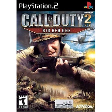 Image of Call of Duty 2: Big Red One (PS2) - Pre-Owned