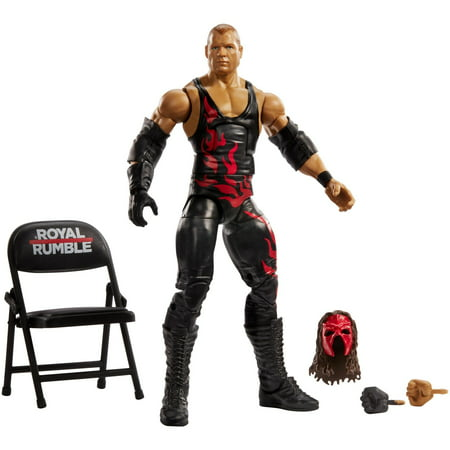 WWE Elite Collection Kane Action Figure with Accessories (Kane Wwe)