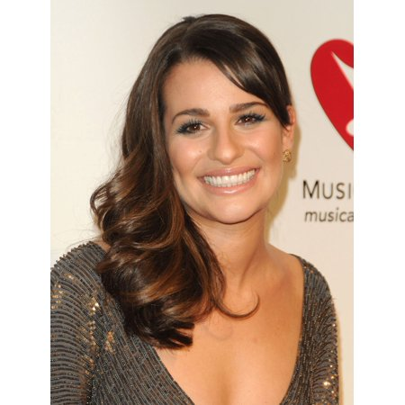 Lea Michele In Attendance For 2011 Musicares Person Of The Year Ceremony Canvas Art     16 X 20