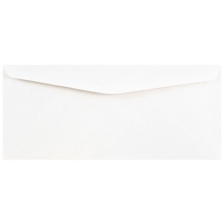 JAM Paper #10 Business Commercial Envelopes, 4 1/8 x 9 1/2, White, (Executive White Business Window Envelopes)