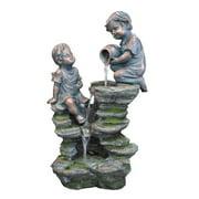 KelKay Children Playing at the Falls