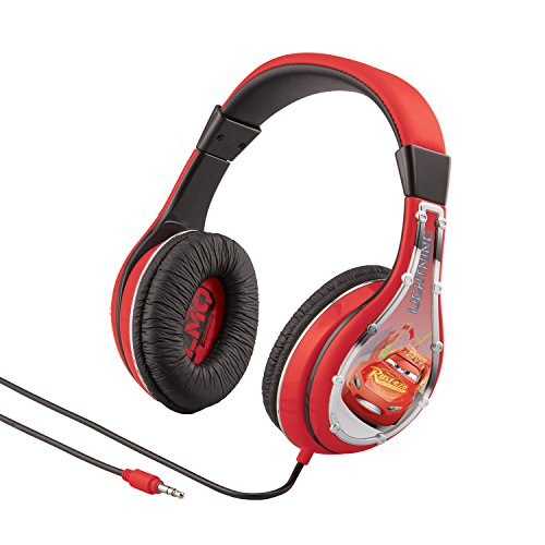 Cars 2 Street Beat Headphones - Kid safe protects hearing w/ clear performance