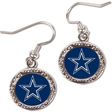 Dallas Cowboys WinCraft Women's Round Dangle Earrings - No (Other Gemstone Earrings)
