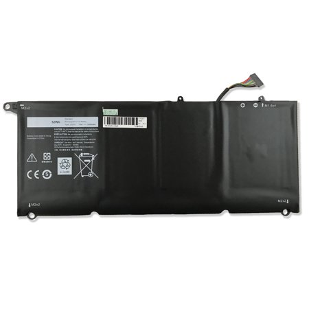 New Battery For Dell XPS 13 (9343) (9350) Laptop JD25G 90V7W JHXPY 5K9CP 7000mAH 52WH ()
