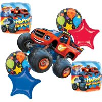 Blaze and the Monster Machines Party Supplies Birthday Balloon Bouquet Decorations
