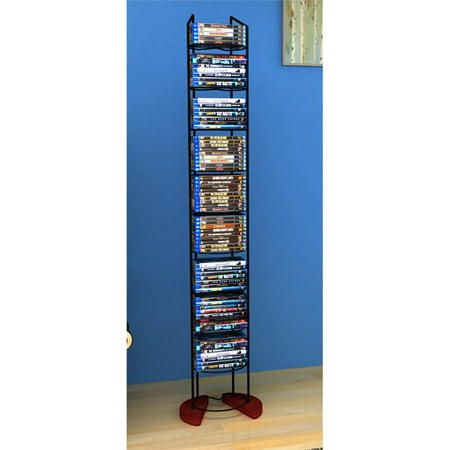 Atlantic 58u0022 Wire Frame Media Storage Tower (97 Disc Capacity)