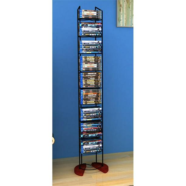 "Atlantic 58"" Wire Frame Media Storage Tower (97 Disc Capacity)"