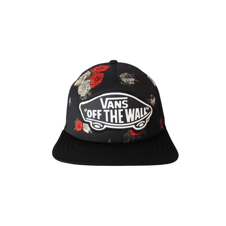 Vans Beach Girl Trucker Hat Roses (One Size Fits All)](Girls Vand)