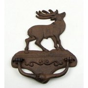 IWGAC 0184S-0019 Elk Door Cast Iron Knocker