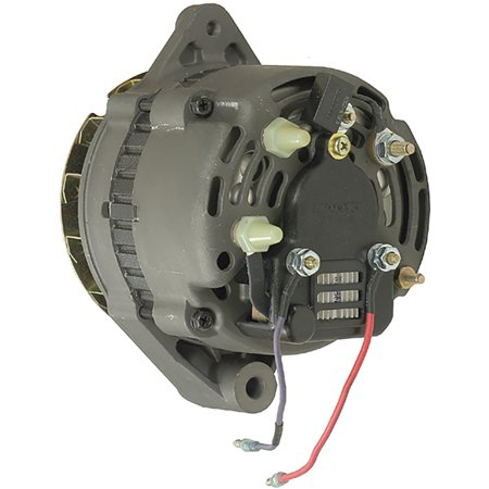 New Alternator for 7.3L Mercruiser Model 7.3L Bravo 94 95 96 97 98 1994-1998 893876, 12176, AC165610, AC165616, AC165617, M50924, M59207, 805447T, 805884, 805884P, 805884T, 600087 External Fan Type
