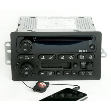 Chevy Awd Van (Chevy GMC 2005-2009 Truck Van Radio AM FM CD Cassette w Auxiliary Input 15849619 - Refurbished)