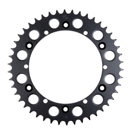 Primary Drive Rear Steel Sprocket 46 Tooth Black - Fits: Yamaha RAPTOR 660 2001-2005