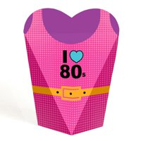 80's Retro - Totally 1980s Party Favors - Gift Favor Boxes for Women - Set of 12