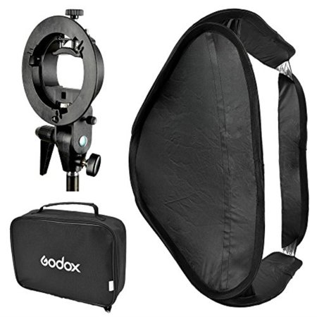 godox softbox with s type bracket bowens s mount holder foldable mini size 8080cm soft box kit for flash camera studio photography