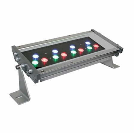 Jescolighting WWT1512HW30AWBA 15 in. 30 DEG - Triple Aluminum Series Outdoor LED Wall Washer