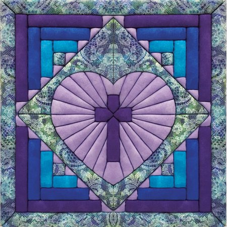Cross in Heart Quilt Magic Kit