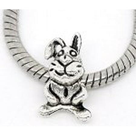 Buckets of Beads Easter Bunny Charm Bead](Easter Bucket)