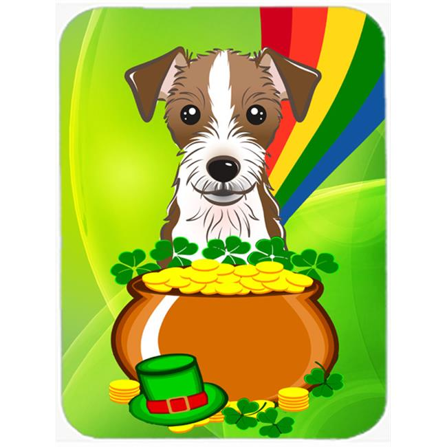 Carolines Treasures BB1946MP Jack Russell Terrier St. Patricks Day Mouse Pad, Hot Pad or Trivet - image 1 of 1