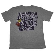 Tootsie Pop Lick Don't Bite Junk Food Vintage Style Soft T-Shirt Tee