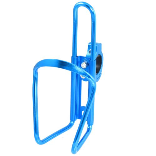 Sky Blue Aluminum Alloyl Bottle Cage Bracket Holder for Bicycle Cycling