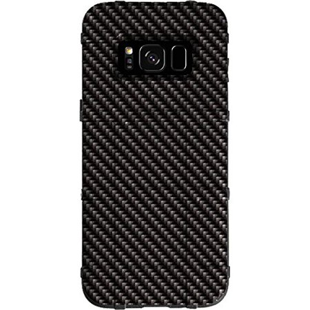 - LIMITED EDITION - Authentic Made in U.S.A. Magpul Industries Field Case for Samsung Galaxy S8 (Not for S8 Active or S8 PLUS) (Black Carbon Fiber Print)