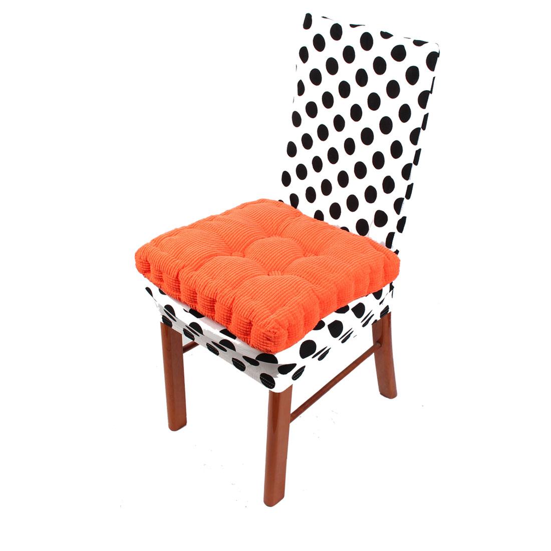 Home Garden Patio Square Shaped Anti Slip Seat Cushion Chair Pad