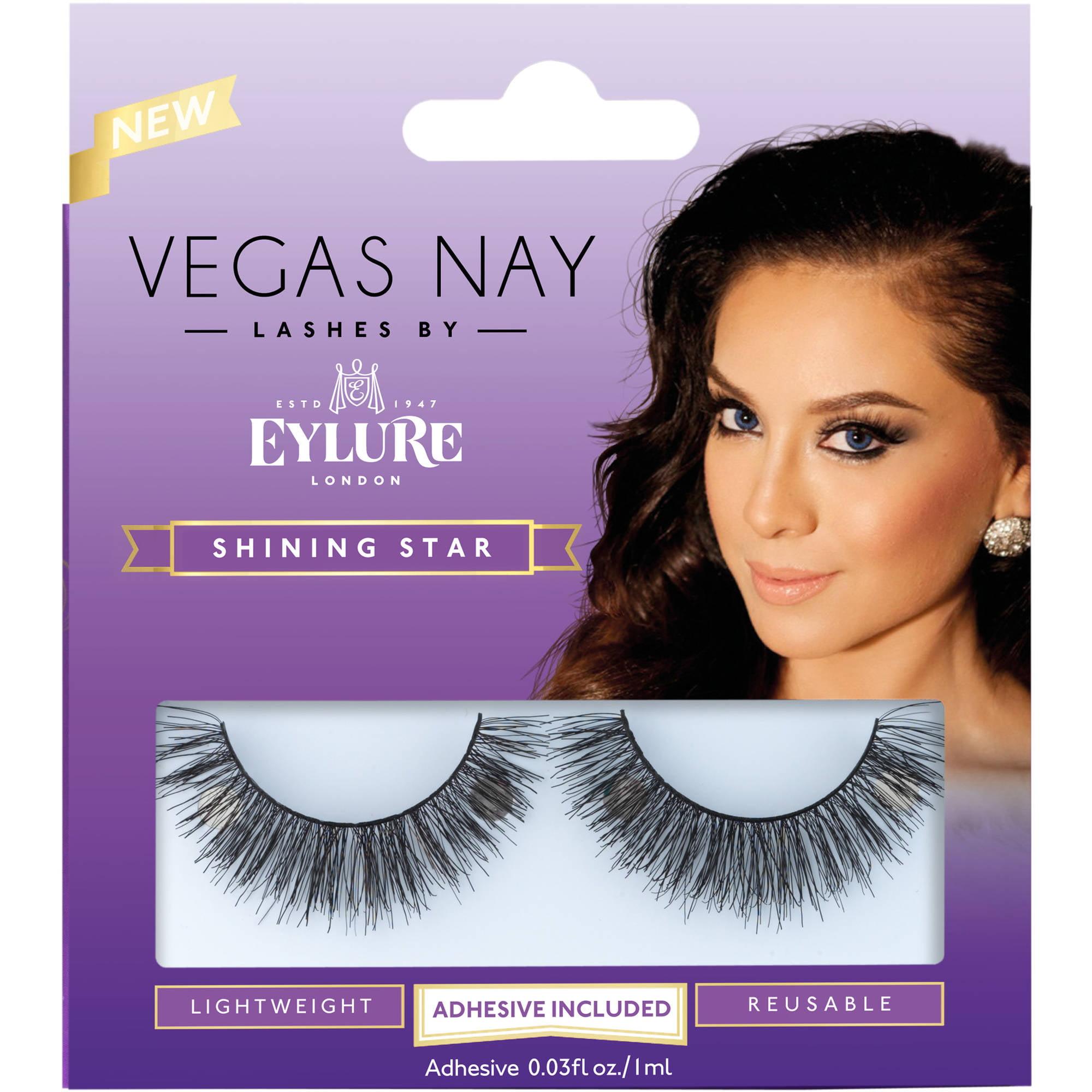 Vegas Nay by Eylure Shining Star Eyelashes Kit, 2 pc