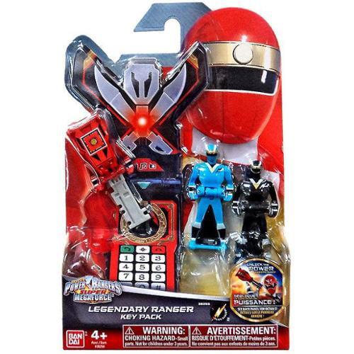 Power Rangers Super Megaforce Legendary Ranger Key Pack [Alien Rangers]