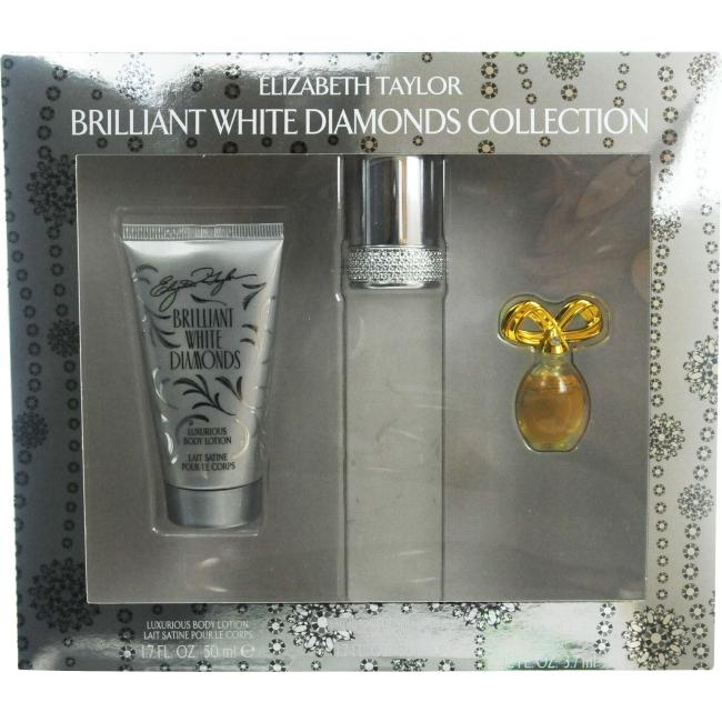 White Diamonds Brilliant Set-Edt Spray 1.7 Oz & Body Lotion 1.7 Oz & W