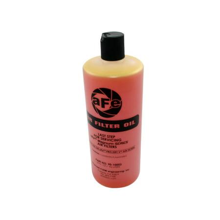 - aFe Power 90-10003 Magnum FLOW Air Filter Oil; 32 oz.; Gold; 4 Per Pack;
