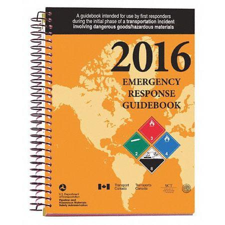 LABELMASTER ERG0023 2016 Emergency Response Guide, Sprl