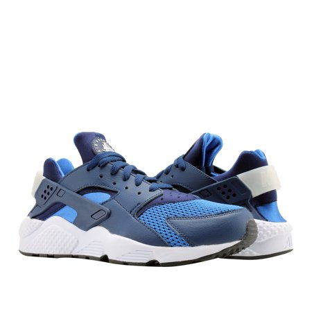 wholesale dealer 779e8 50fca Nike Air Huarache Blue Void Blue Void-White Men s Running Shoes ...