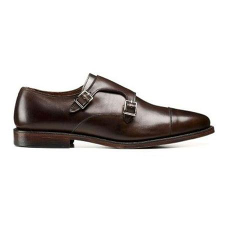 Allen Edmonds Mens Mora 2.0 Leather Buckle Dress Oxfords, Dark Brown, Size 7.5 Allen Edmonds Dress Shoes