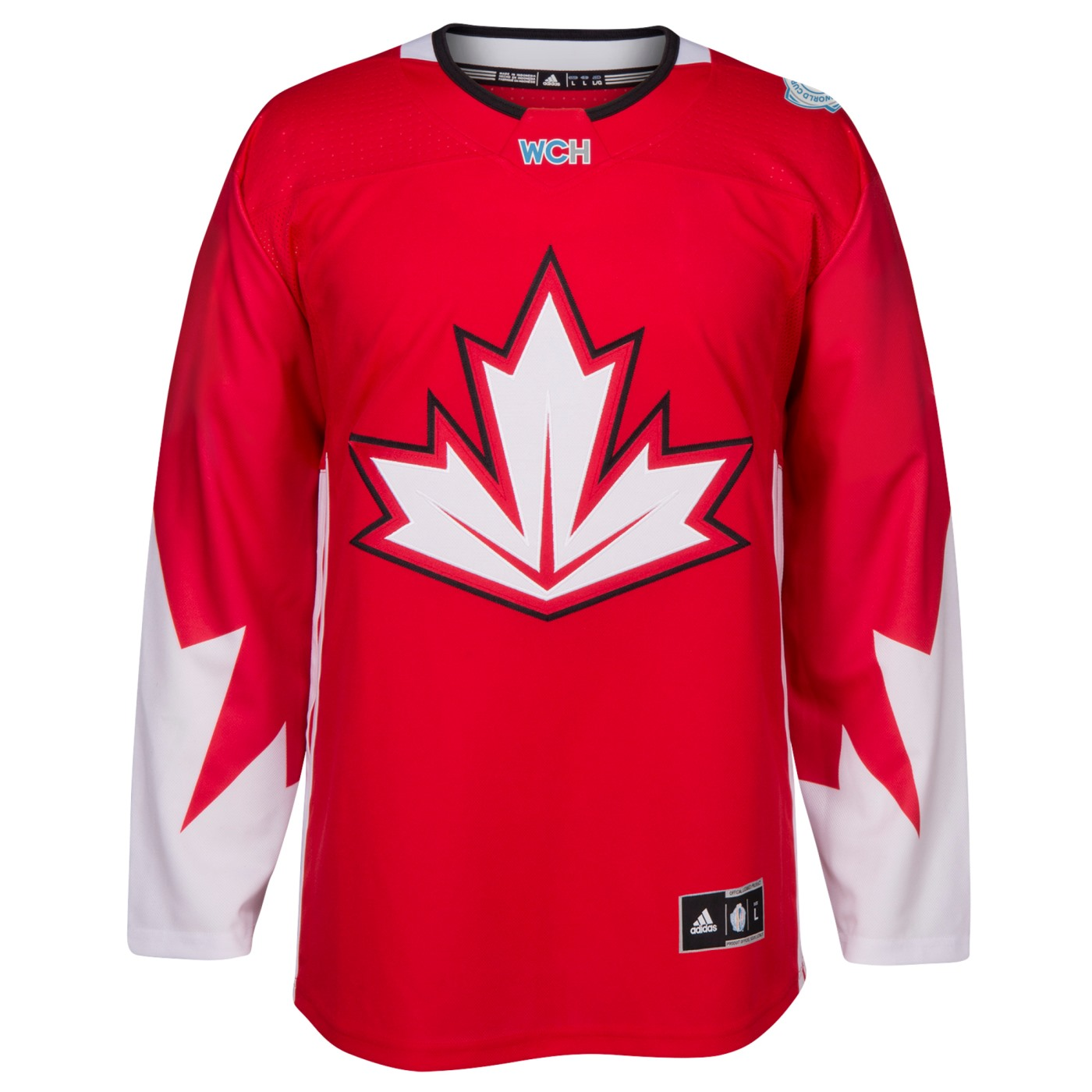 Team Canada 2016 World Cup of Hockey Adidas Men's Premier Red Jersey