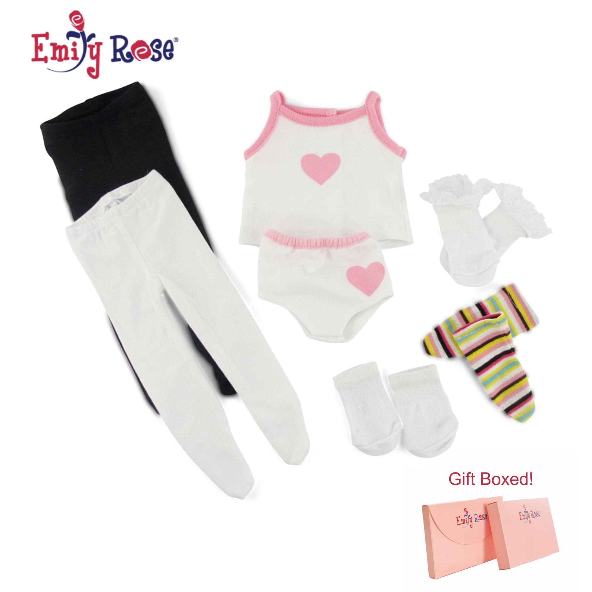 Pink Zebra Print Top /& Leggings Set American Girl Doll