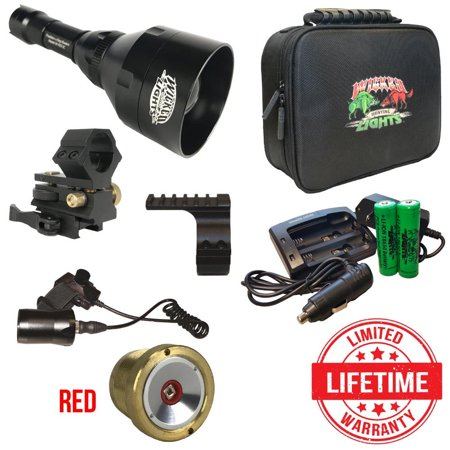 Wicked Lights W403iC Red LED Night Hunting Light Kit