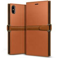 OBLIQ, iPhone Xs Max Z2 Wallet Case [Navy]