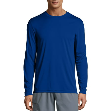 7ec3327acf7 Hanes - Hanes Sport Mens Cool DRI Performance Long Sleeve Tshirt (50 ...