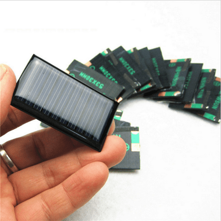 AMX3d 4X 5V 30mA 53X30mm Mini Solar Cells For Solar Panels - DIY Projects - (4