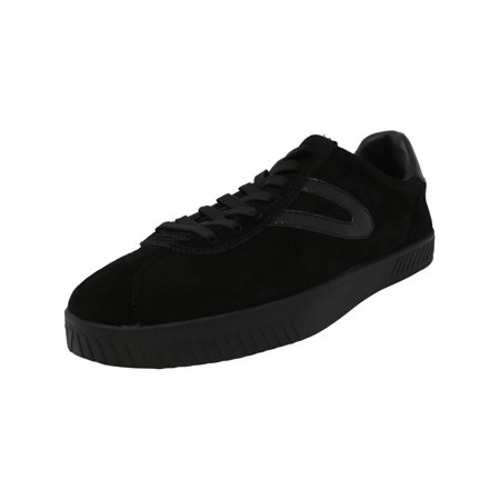 Tretorn Men's Camden 3 Suede Black / Ankle-High Fashion Sneaker -