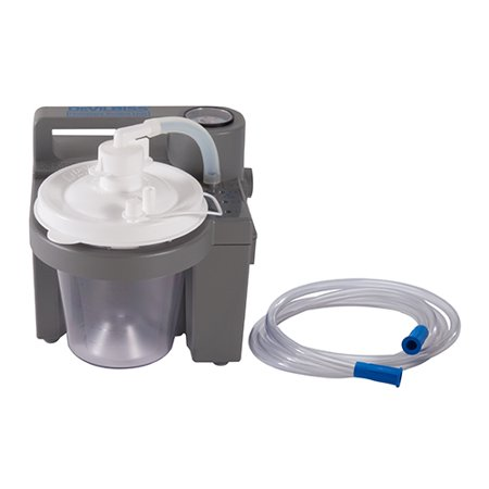 Image of Drive Medical Vacu-Aide Suction Unit with 800CC Disposable Bottle without Carry Case, 1 ea