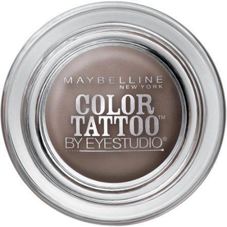 Maybelline 24 Hour Eyeshadow, Tough as Taupe, 0.14 Oz](Cool Halloween Eyeshadow)