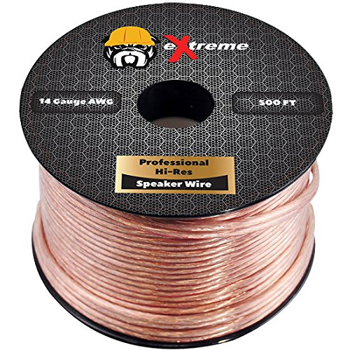 Best Speaker Wire >> Extreme Products 2 Conductor 14 Gauge Stranded Copper Core Speaker Wire No Aluminum Core For Home Theater Speakers Radio Speakers Car Audio Or Any