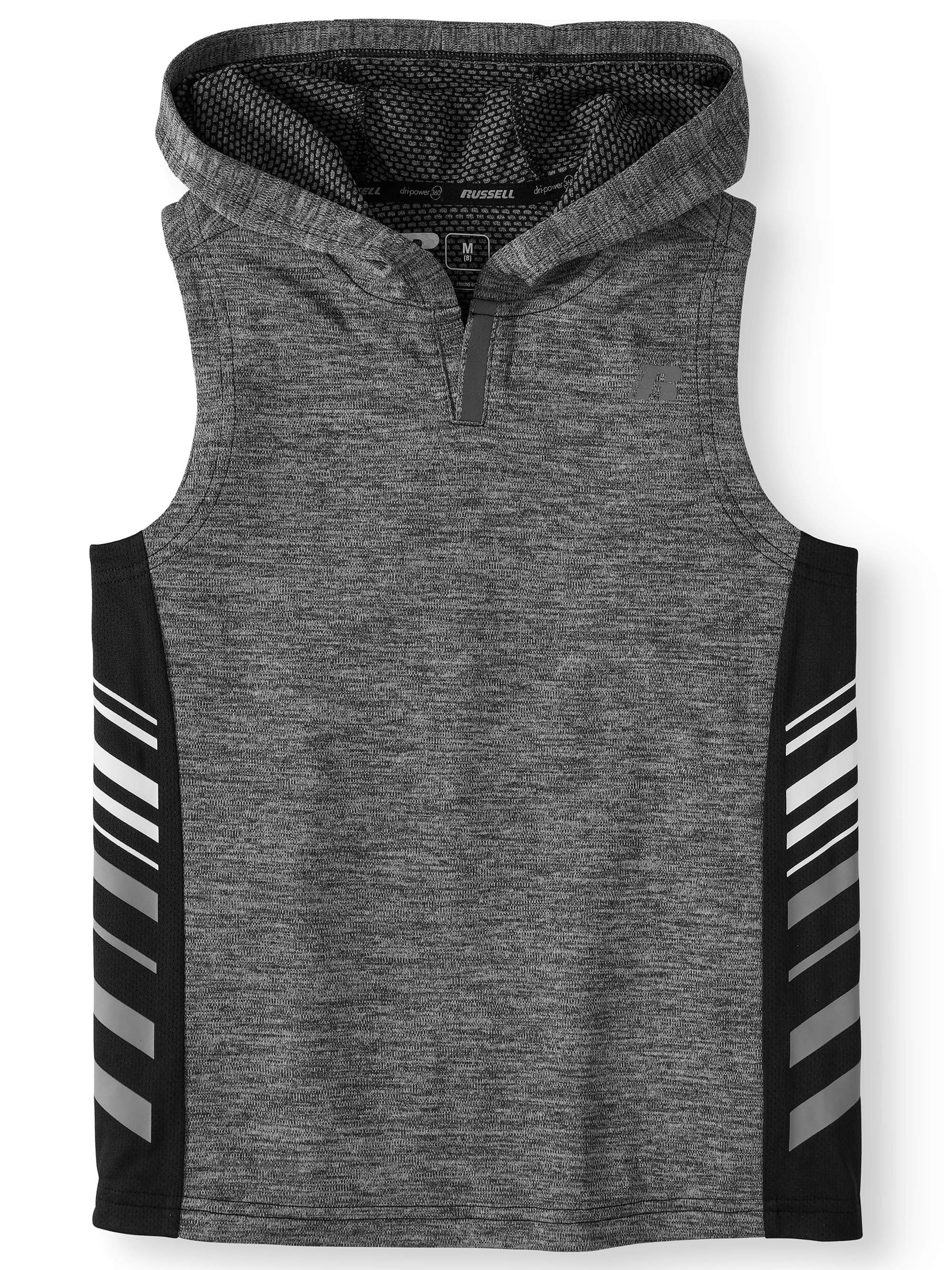 Boys' Sleeveless Performance Hooded Top