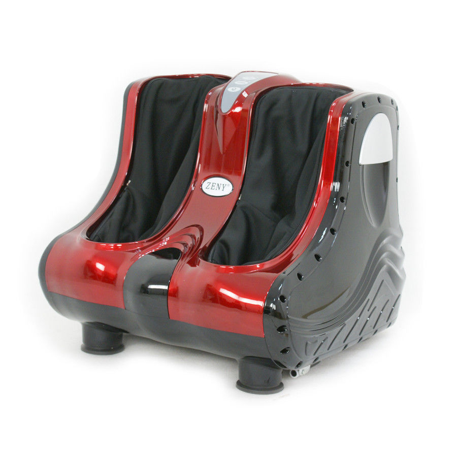 Zeny Shiatsu Kneading Rolling Foot Calf Massager Vibration Ankle Leg Relax Massager Machine